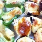 野菜の味噌チーズ焼き