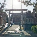 千歳御殿に因み千歳神社と改称