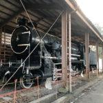 富山城址公園にある1D過熱テンダ機関車9600形 9628号 (富山市)
