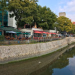 京橋川、元安川(広島市) ー 全国初! 河川空間に店舗を常設