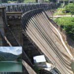 小牧ダム(砺波市庄川町) 巨大なダムと雄大な湖