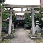 富山のまちなかの2つの白山神社