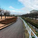 京坪川河川公園(オレンジ・パークふなはし)(舟橋村)