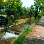 水の小径(入善町)
